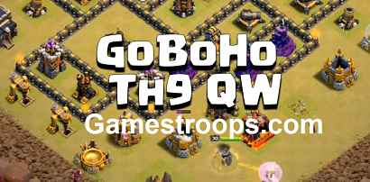 Clash Of Clans GoBoHo Th9 2019 | Th9 GoBOHo Attack | QW Th9