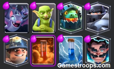 Mega Knight Miner Deck