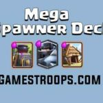 Clash Royale Mega Knight Spawner Deck |Mega Knight Goblin Hut Deck