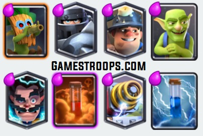 Top 11 Clash Royale Best Mega Knight Decks 2017 Arena 10