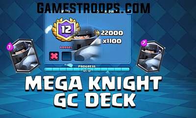 Mega Knight Grand Challenge Deck