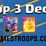 Clash Royale Top 5 Three Musketeers Heal Decks 2019 Arena 10+