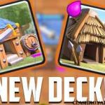 Clash Royale Barbarian Hut Goblin Hut Deck | Best Spawner Deck 2017