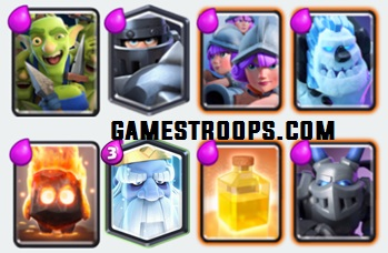 Clash Royale Modern Royale Challenge Cards All Cards