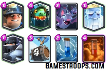 Clash Royale Dragon Hunt Challenge Deck
