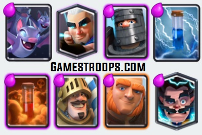 Giant Magic Archer Double Prince Deck Arena 11+