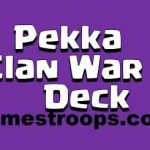 Top 7 Clash Royale Pekka Clan War Deck | Best Pekka War Deck