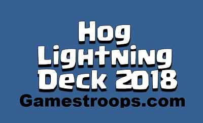 Hog Lightning Deck 2018 Arena 9+