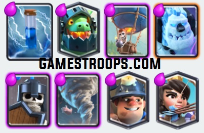 Balloon Parade Deck ( Miner Balloon Ice golem Deck