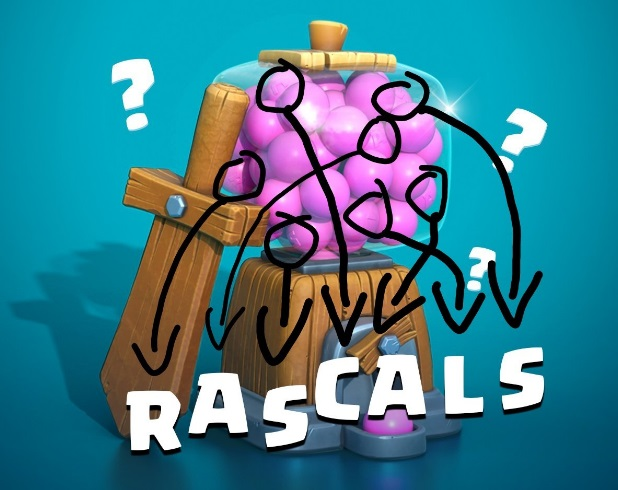 Clash Royale Rascals Card