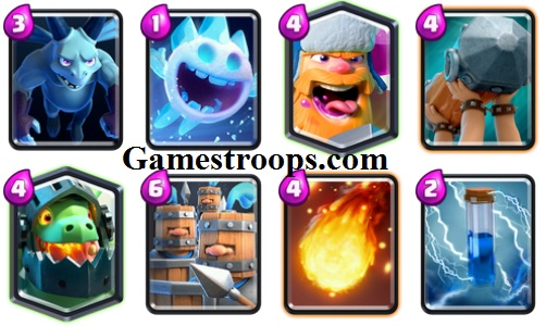 Battle Ram Royal Recruits Lumberjack Deck