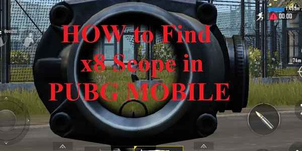 Pubg Mobile 8x Scope Locations