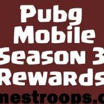Pubg Mobile Season 3 Rewards | Pubg Mobile Season 3 Tier Rewards