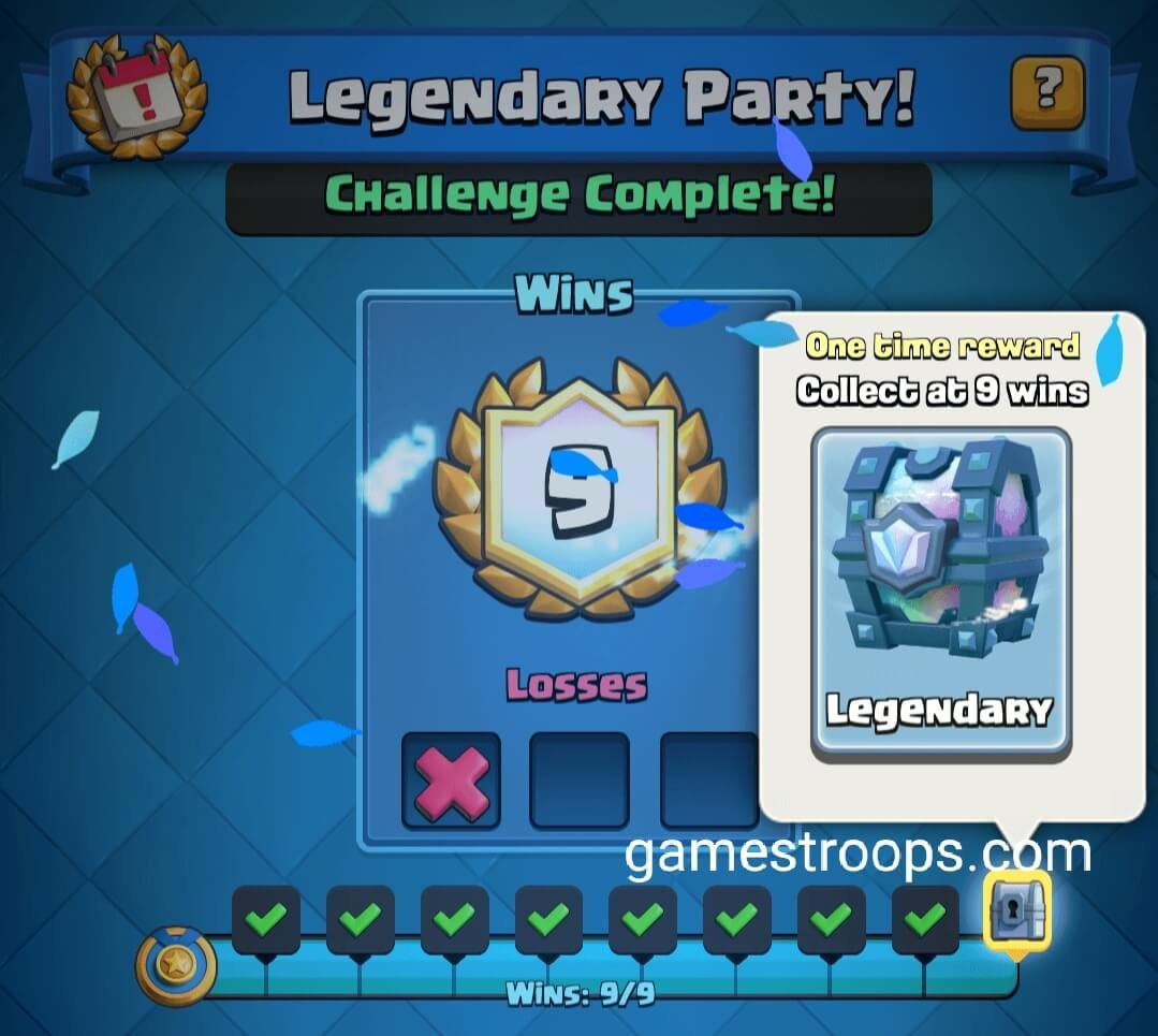 Legendary Party Challenge deck
