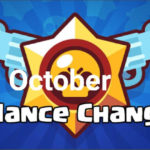 BRAWL STARS OCTOBER BALANCE UPDATE 2019