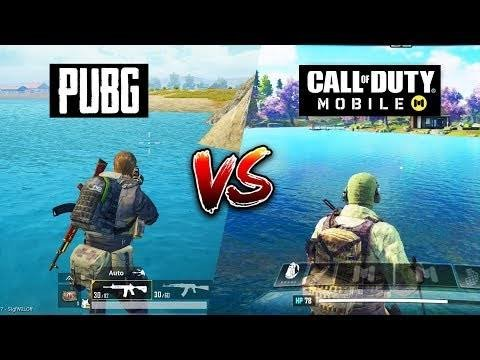 Call Of Duty Mobile vs Pubg Mobile