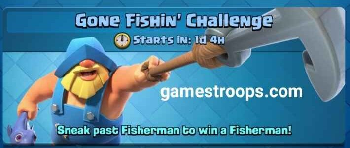 Gone Fishin Challenge Deck